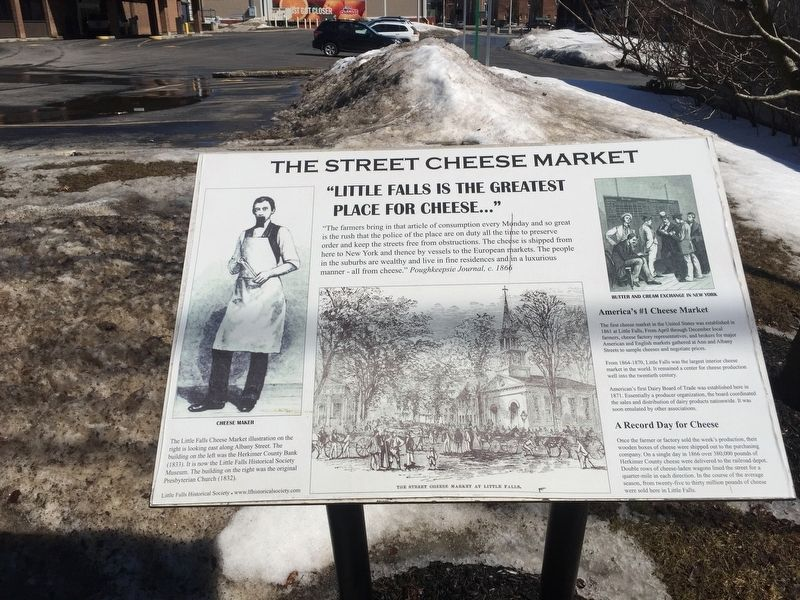 The Street Cheese Market Marker image. Click for full size.