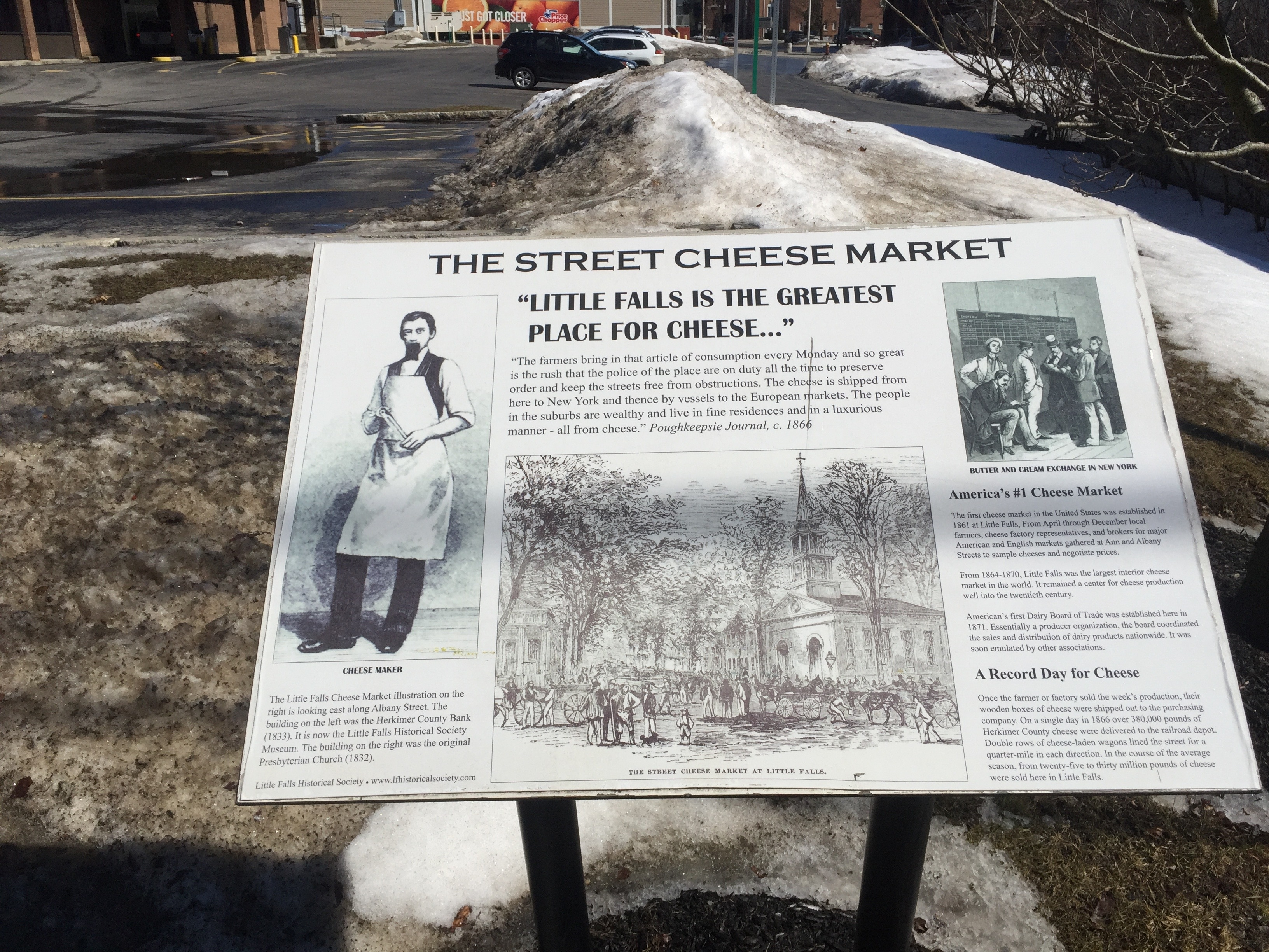 The Street Cheese Market Marker