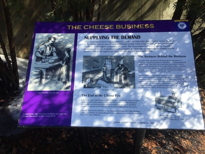 The Cheese Business Marker image. Click for full size.