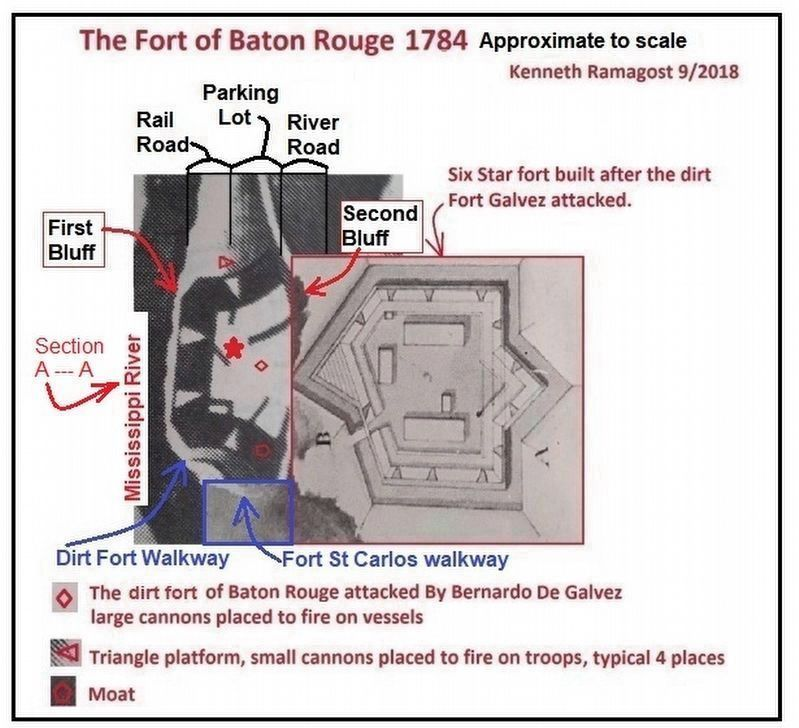 Fort San Carlos Marker image. Click for full size.