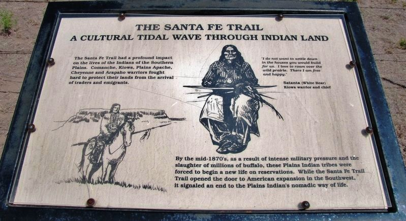 A Cultural Tidal Wave Through Indian Land (<i>right panel</i>) image. Click for full size.