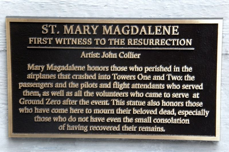 St. Mary Magdalene Marker image. Click for full size.