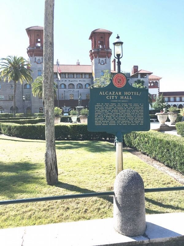 Alcazar Hotel / City Hall Marker image. Click for full size.