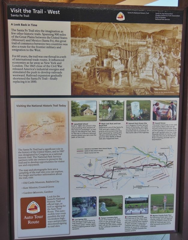 A Look Back in Time Marker (<i>tall view</i>) image. Click for full size.