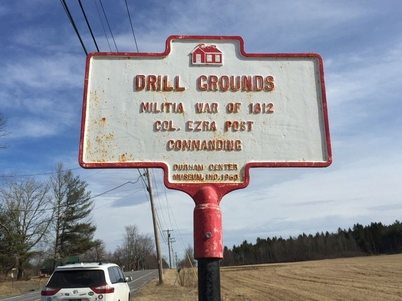 Drill Grounds Marker image. Click for full size.
