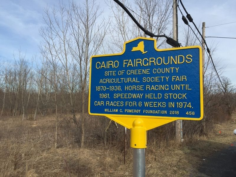 Cairo Fairgrounds Marker image. Click for full size.