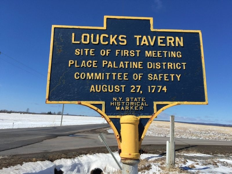 Loucks Tavern Marker image. Click for full size.