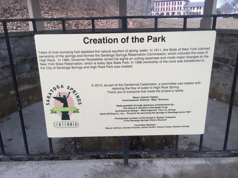 Creation of the Park Marker image. Click for full size.