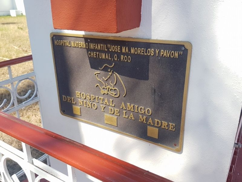 An additional Morelos Maternal and Children's Hospital Marker image. Click for full size.
