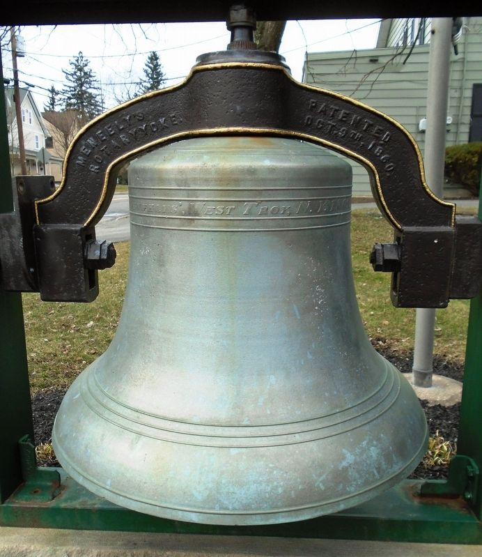 Baptist Church Bell image. Click for full size.