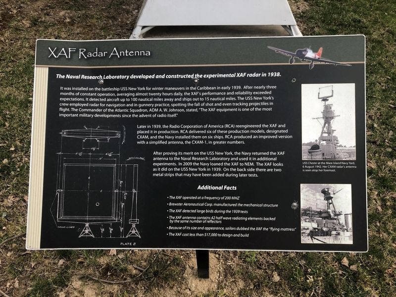 XAF Radar Antenna Marker image. Click for full size.