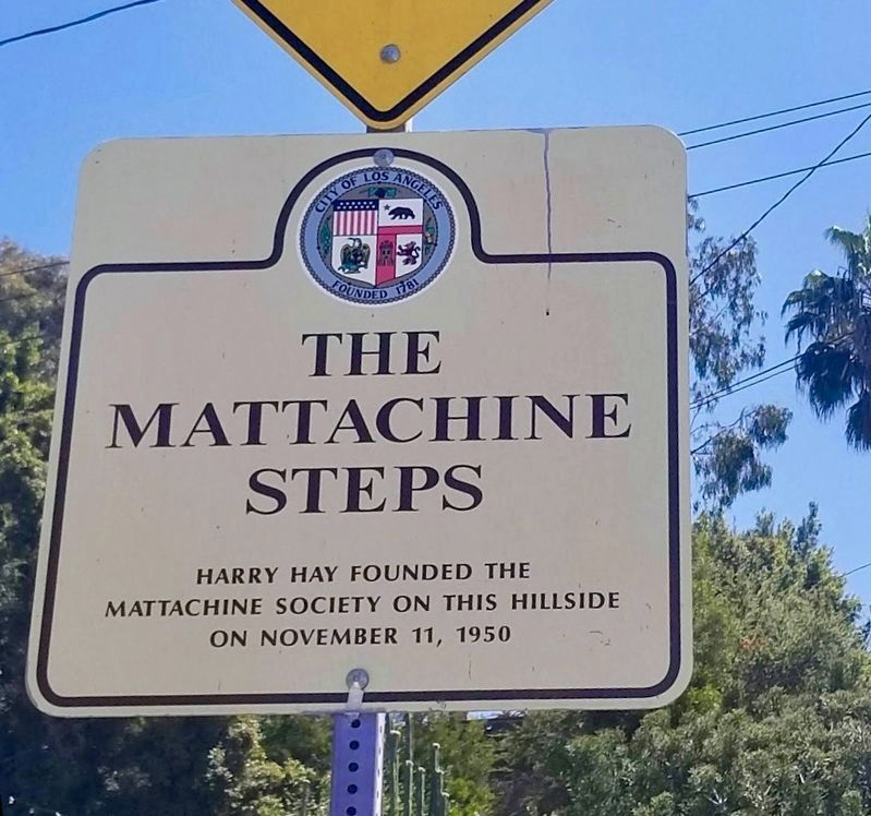 Mattachine Steps Marker image. Click for full size.