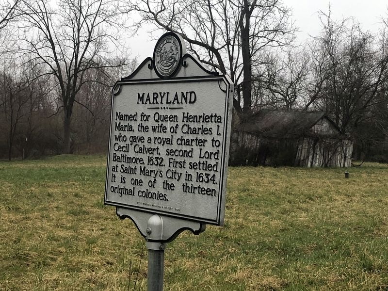 Maryland side of Marker image. Click for full size.