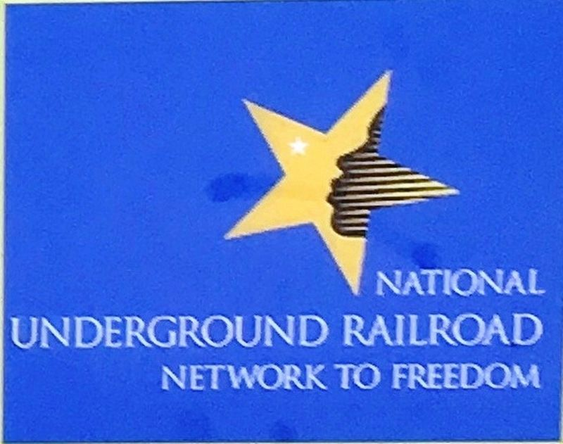 Marker Detail: National Underground Railroad Network to Freedom image. Click for full size.