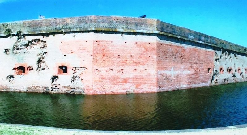 Marker Detail: Fort Pulaski image. Click for full size.