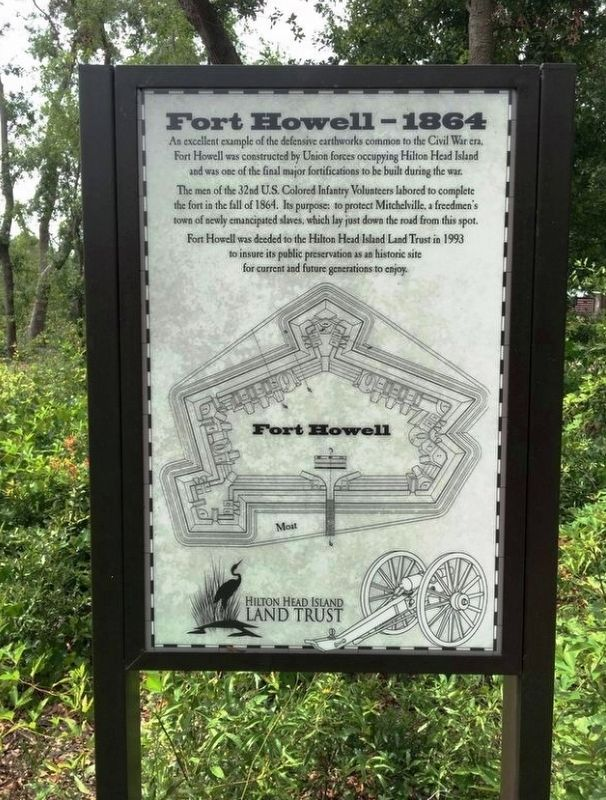 Fort Howell – 1864 image. Click for full size.