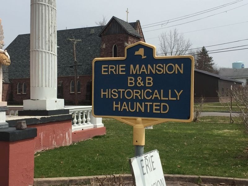 Erie Mansion B&B Marker image. Click for full size.