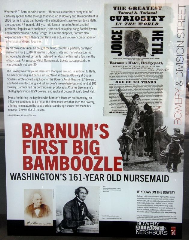 Barnam's First Big Bamboozle Marker image. Click for full size.