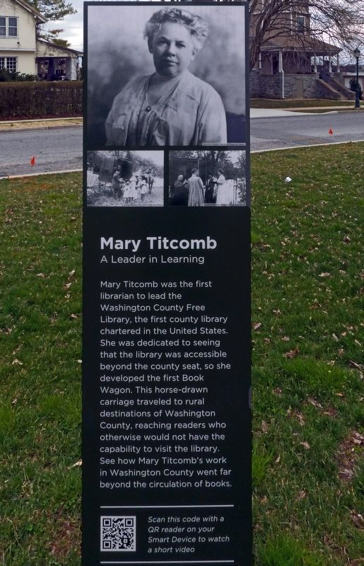 Mary Titcomb Marker image. Click for full size.
