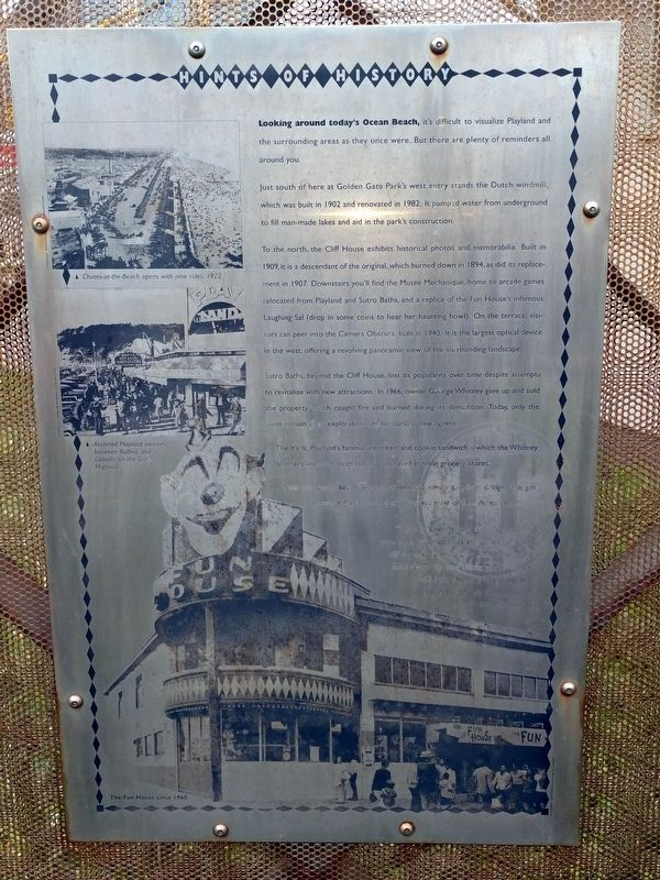 Hints of History Marker image. Click for full size.