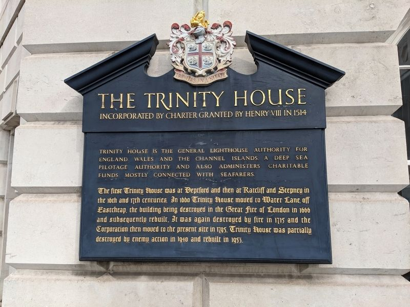 The Trinity House Marker image. Click for full size.