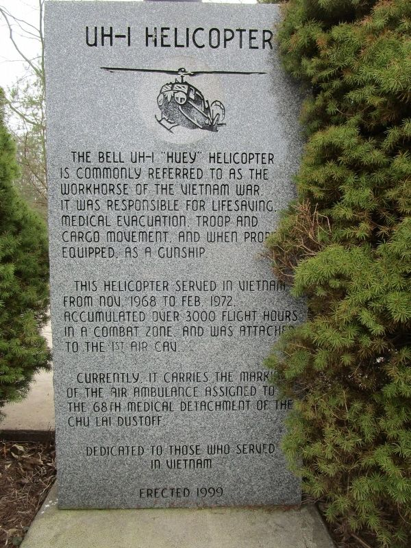 UH-1 Helicopter Marker image. Click for full size.