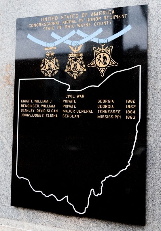 Congressional Medal of Honor Recipients image. Click for full size.