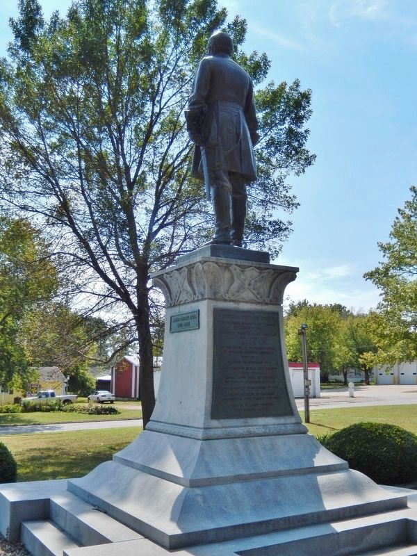 General Sterling Price Monument (<i>west side; marker visible on pedestal</i>) image, Touch for more information