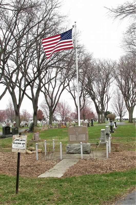 Amboy Township Veterans Memorial image. Click for full size.