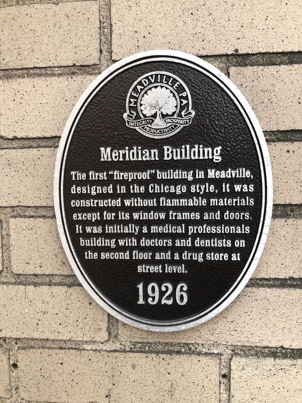 Meridian Building Marker image. Click for full size.