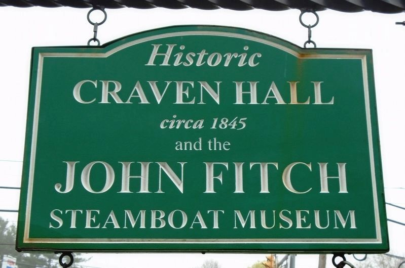 Craven Hall Sign image. Click for full size.
