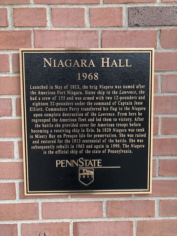 Niagara Hall Marker image. Click for full size.