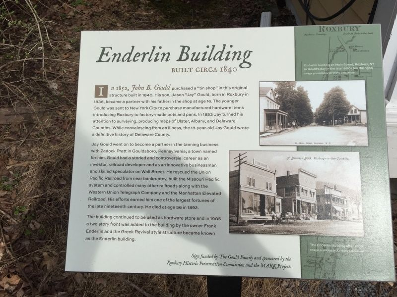 Enderlin Building Marker image. Click for full size.