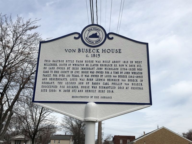 von Buseck House Marker image. Click for full size.