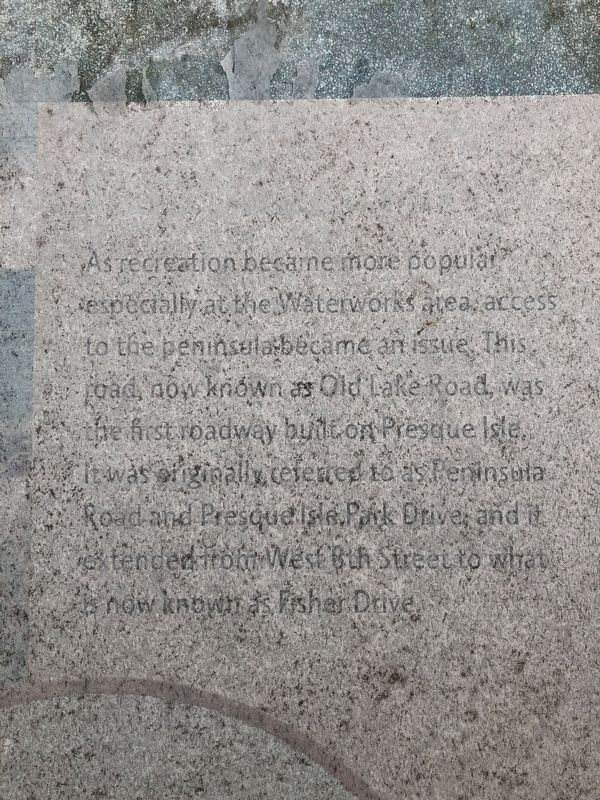 Closeup of text on the marker image. Click for full size.