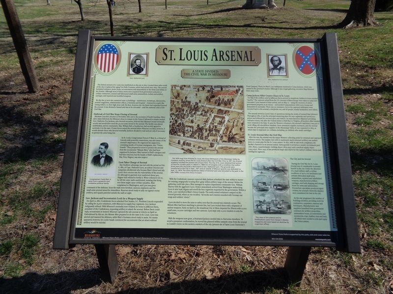 St. Louis Arsenal Marker image. Click for full size.