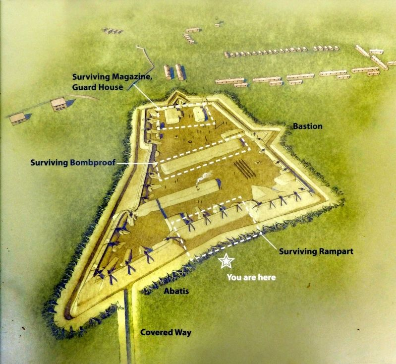 Fort Ethan Allen<br>A Bastion-Style Fort image. Click for full size.