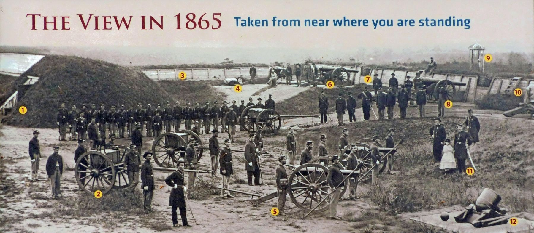 The View in 1865<br>Taken from near where you are standing. image. Click for full size.