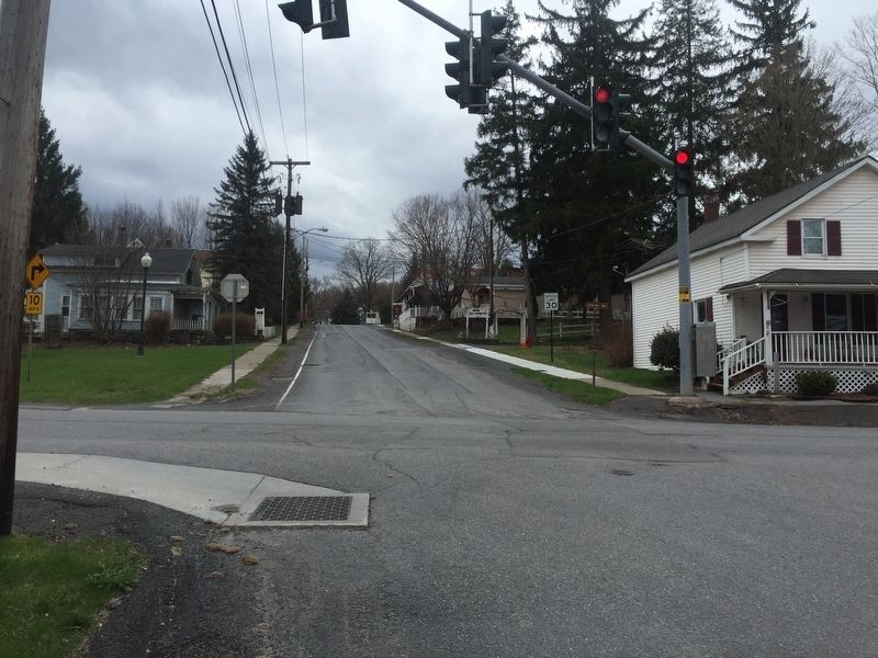 Looking south along Co. 65 through town image. Click for full size.
