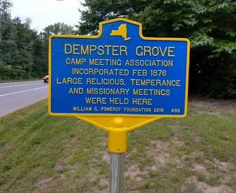 Dempster Grove Marker image. Click for full size.