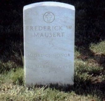 Sergeant Frederick W. Mausert III MOH Grave Marker image. Click for full size.