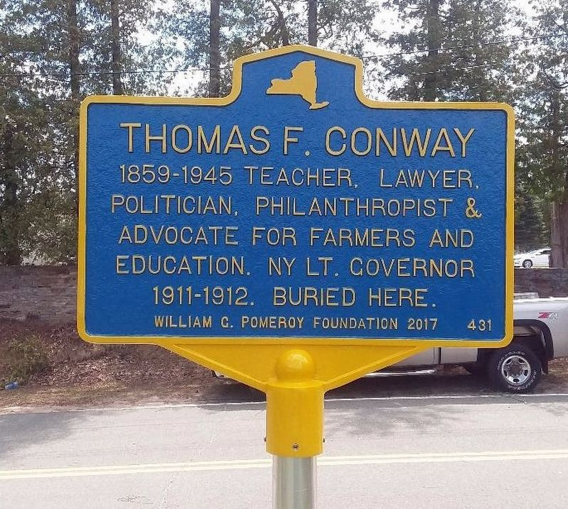 Thomas F. Conway Marker image. Click for full size.