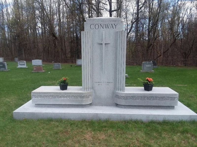 Thomas F. Conway Gravesite image. Click for full size.