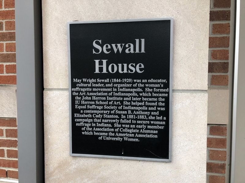 Sewall House Marker image. Click for full size.