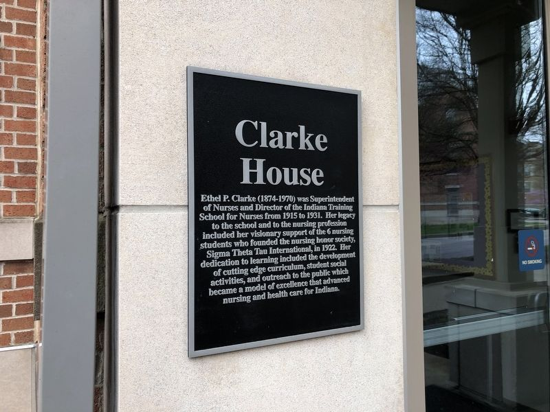 Clarke House Marker image. Click for full size.