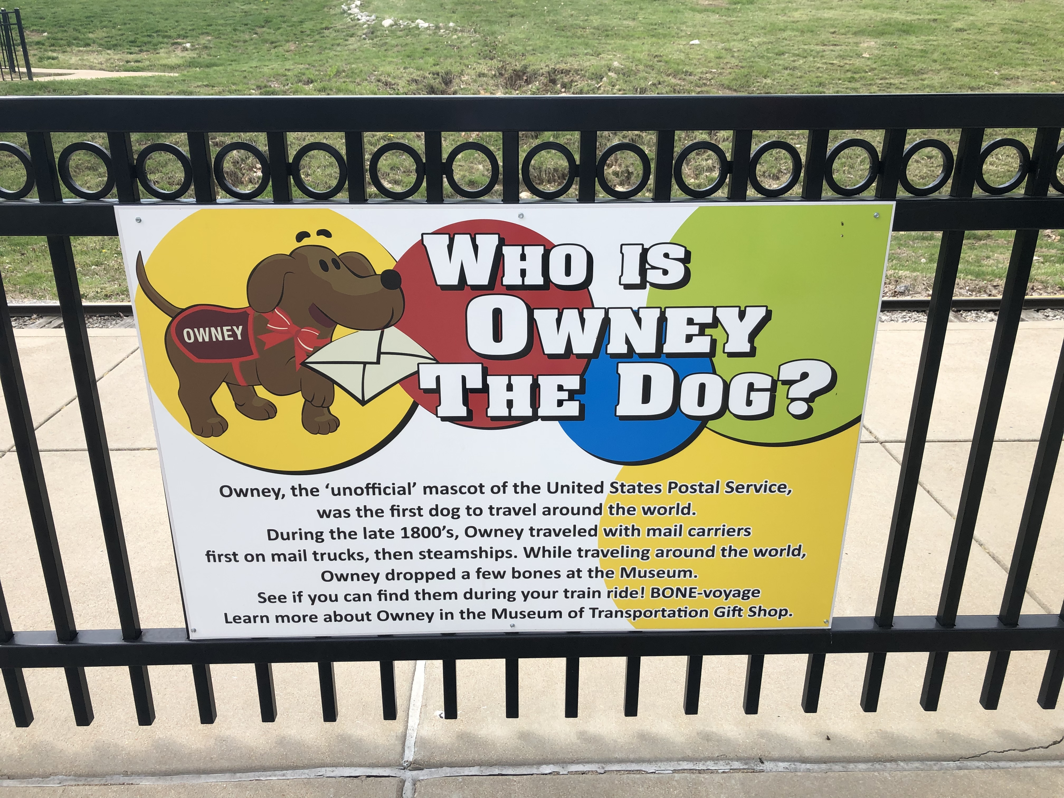 Who Is Owney The Dog? Marker