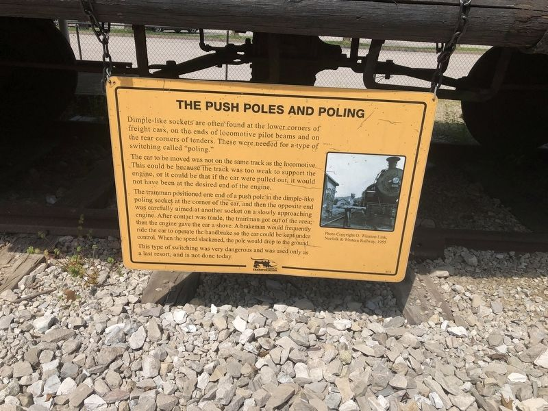 The Push Poles and Poling Marker image. Click for full size.