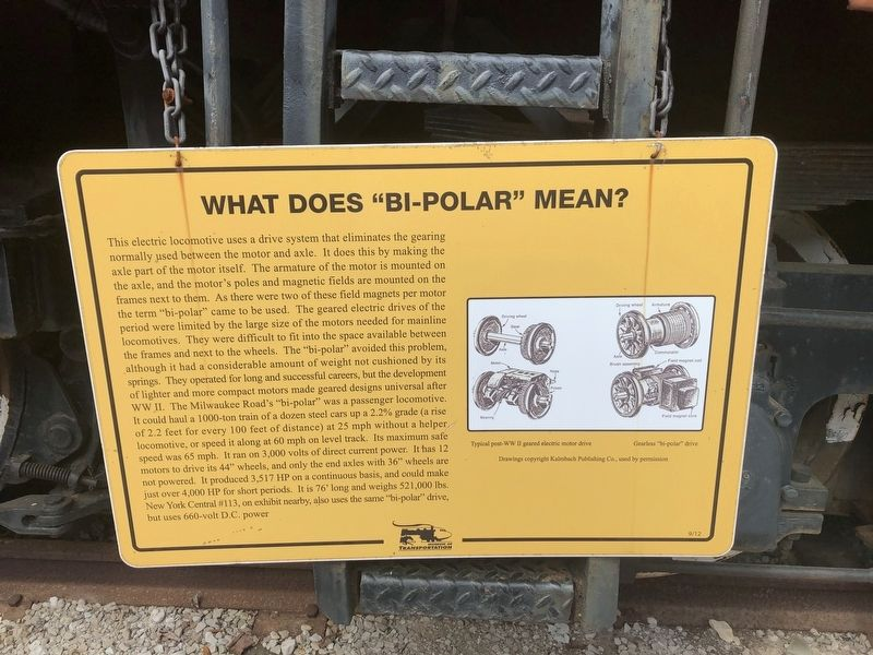 "What Does ""Bi-Polar"" Mean? Marker image. Click for full size."