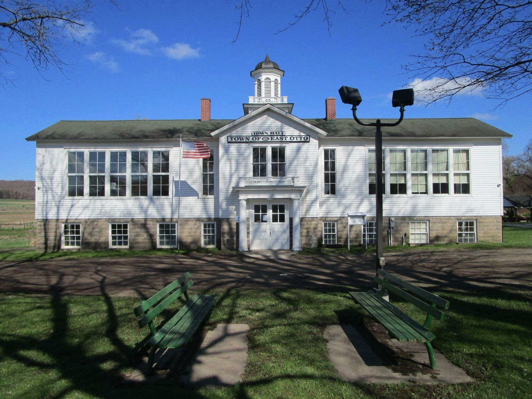 East Otto Union School image. Click for full size.