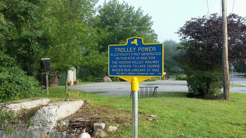 Trolley Power Marker image. Click for full size.